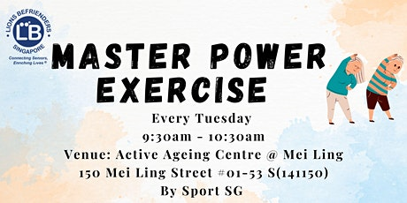 Master Power Exercise tickets