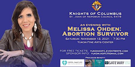 An Evening with Melissa Ohden: Abortion Survivor tickets