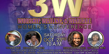 Worship, Wailing and Warfare Women's Conference (3WWW) tickets