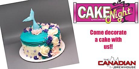 CakeNight - Leduc - Mermaid Cake tickets