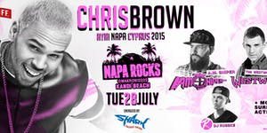 Chris Brown @ NapaRocks - Ayia Napa Cyprus