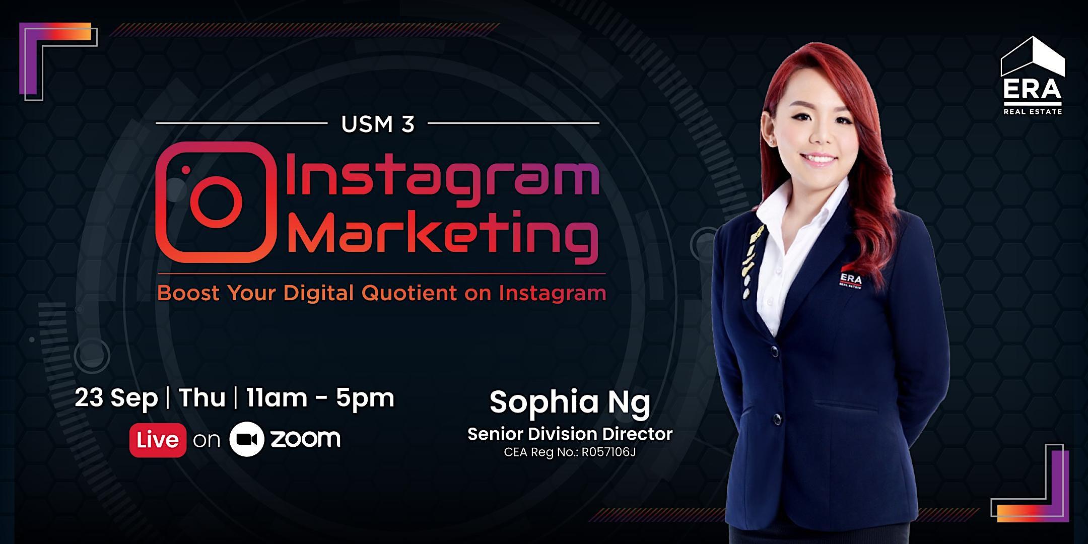 USM 3 : Instagram Marketing