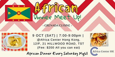 African Dinner Meetup (Grenada Cuisine) tickets