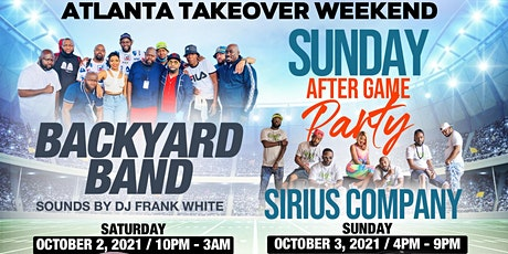 Backyard Band & Sirius Company Atlanta Takeover Weekend (Oct. 2 - 3, 2021) tickets
