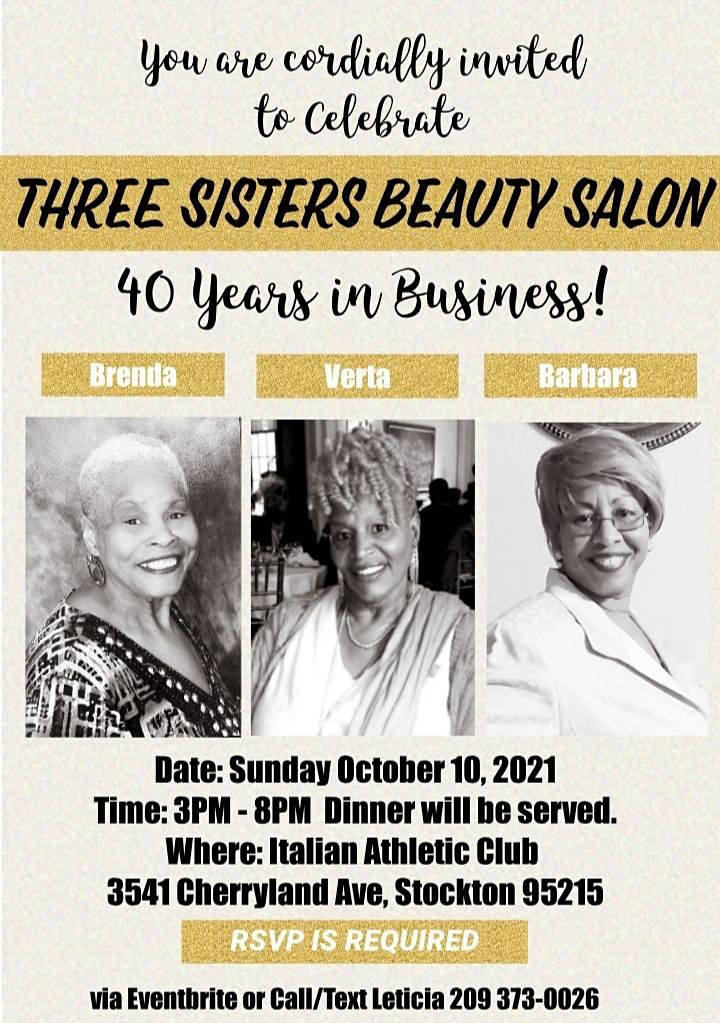 Three Sisters 40th Year Anniversary Celebration image