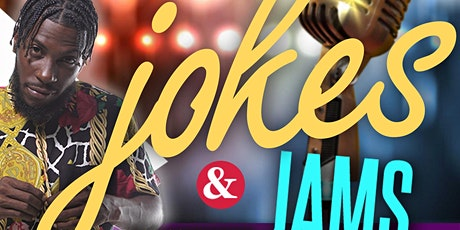 Jokes & Jams hosted by B-Naked tickets