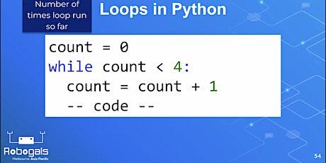 Robogals: Online Python Workshop tickets