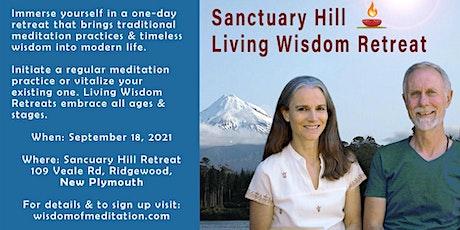 Sanctuary Hill Living Wisdom Retreat tickets