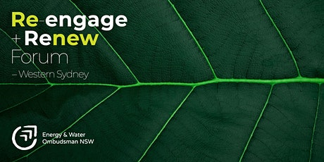 Re-engage and Renew Forum: Western Sydney tickets