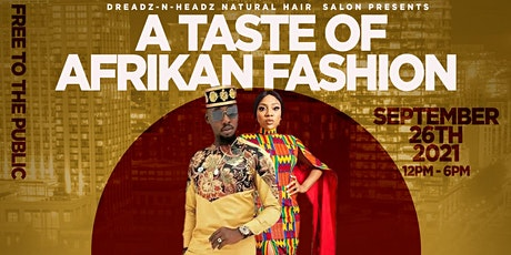 A Taste of African Fashion Runway Show tickets