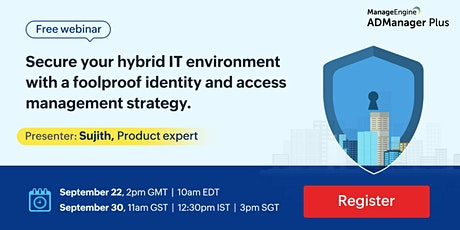 The Role of IAM in securing your hybrid IT environment tickets