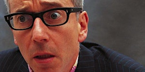 Tea and Cake with John Hegley. Live literature event.