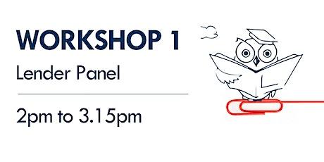 Workshop 1 - Lender Panel tickets