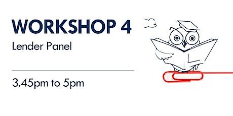 Workshop 4 - Lender Panel tickets