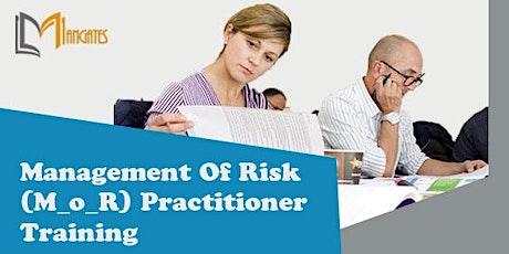 Management of Risk (M_o_R) Practitioner 2 Days Training in Lausanne billets