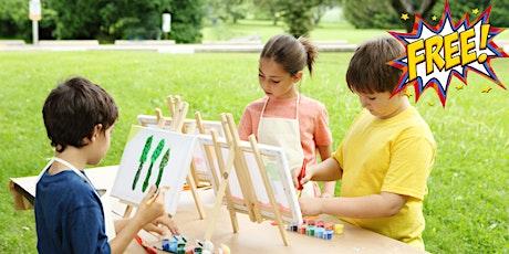 Self-Portrait Painting - Heyfield School Holiday Program tickets