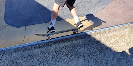 Scarborough skatepark - Skateboard  Coaching 29th September 2021 tickets