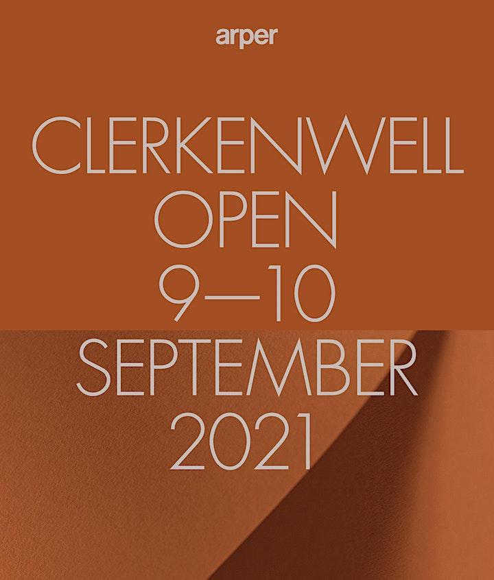 ARPER AT CLERKENWELL OPEN | 9th  – 10th  SEPTEMBER 2021 image