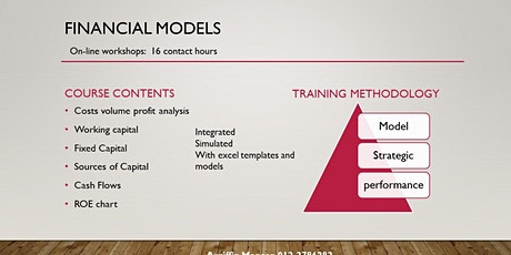 FINANCIAL MODELLING for CEOs via online course tickets