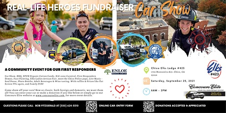 REAL-LIFE HEROES FUNDRAISER CAR SHOW-   Community Event First Responders tickets