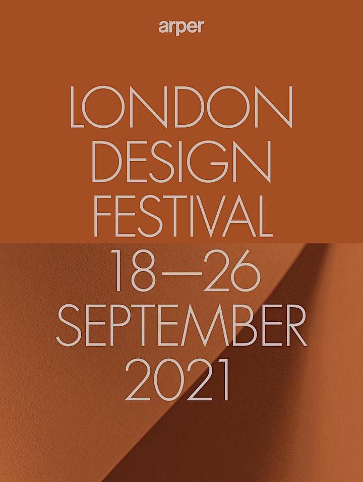 ARPER AT LONDON DESIGN FESTIVAL   18th - 26th  SEPTEMBER 2021 image
