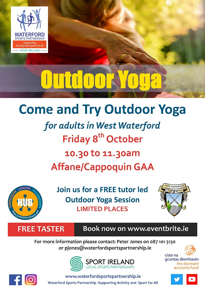 Come & Try  Outdoor Yoga for Adults in West Waterford image