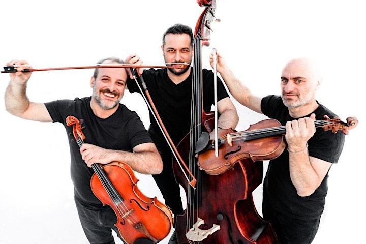 V.Koutsonanos–D.Verdinoglou   Frog String Trio   Panagiotis Smarnakis Trio image
