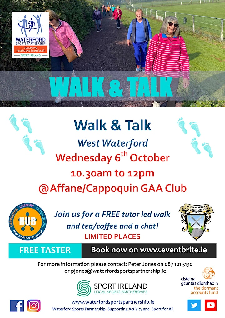 Come & Try  - Walk & Talk in West Waterford image