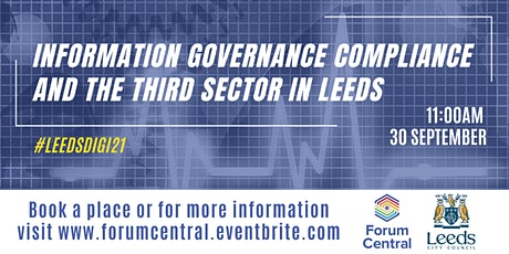 Information governance compliance and the Third Sector in Leeds tickets