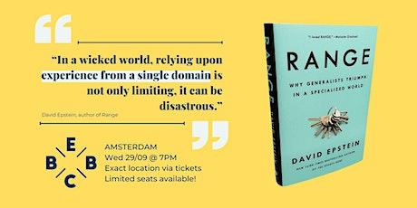EBBC Amsterdam - Range (D. Epstein) tickets