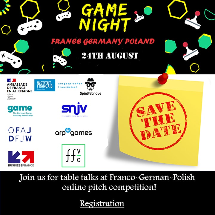 Image pour Game night France Germany Poland
