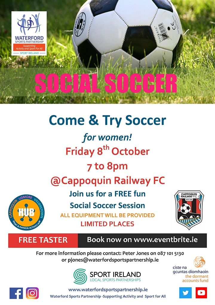 Come & Try Soccer for Women in West Waterford image
