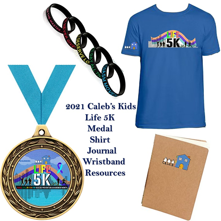 2nd Annual Life 5K - Virtual Fundraiser image