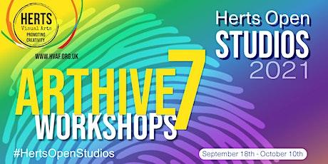 ArtHive7 Workshops - BRUSHO Flowers tickets