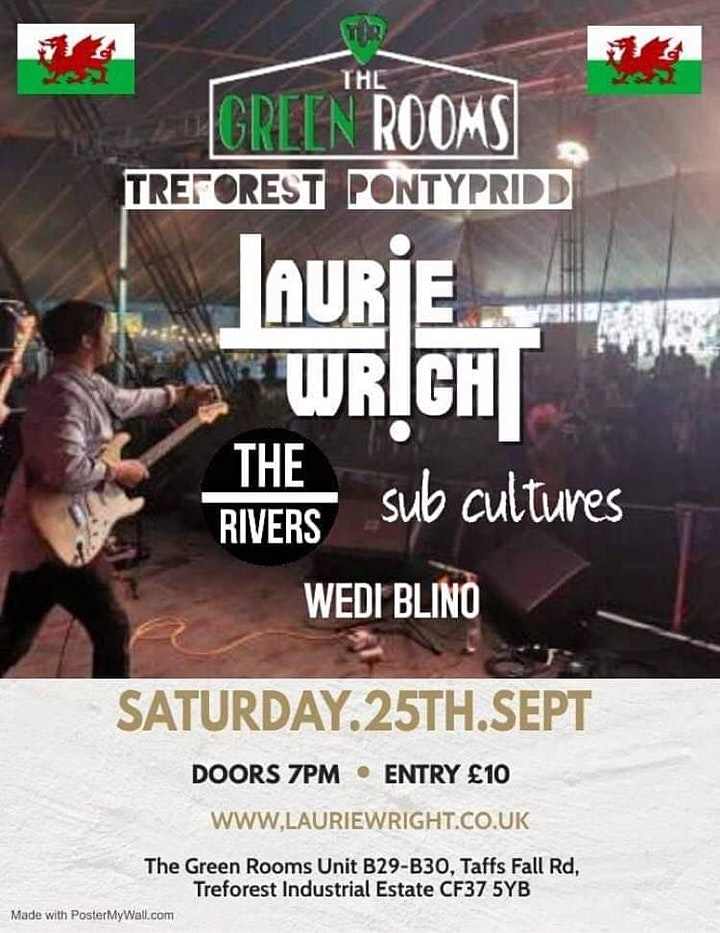 Laurie Wright  Live at The Green Rooms Pontypridd image