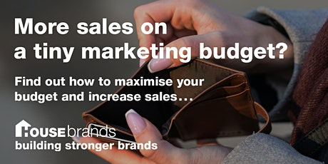 More sales on a tiny marketing budget? tickets