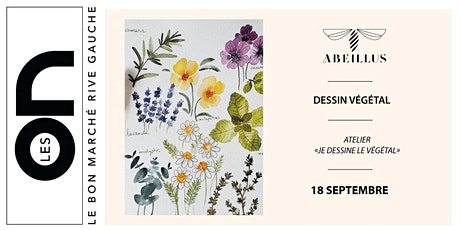 """Les ON: Atelier """"je dessine le végétal"""" avec Abeillus billets"""