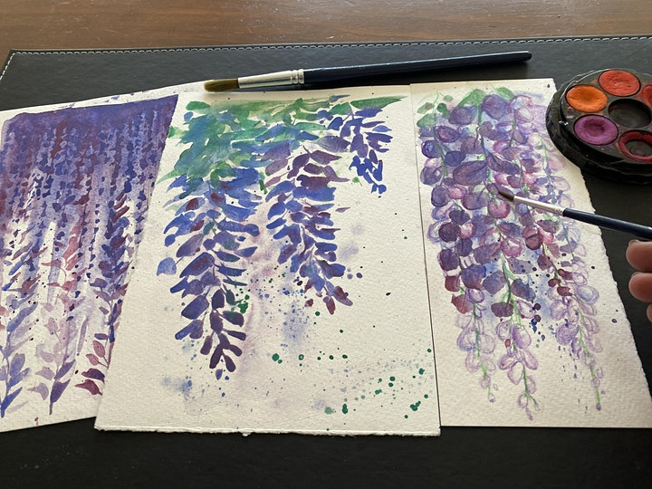 Watercolour at Home - Mindful Painting Series image