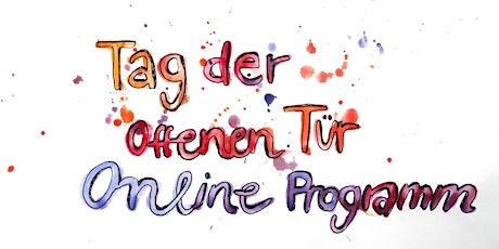 26.9.| 11 + 14 + 16 Uhr I Schnupper-Online-Workshops des Kinderkunsthauses Tickets