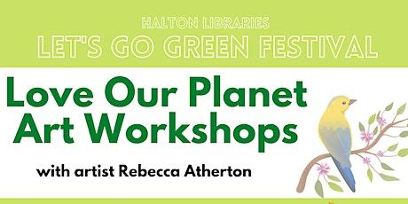 Let's Go Green festival - Love Our Planet headdresses workshop (Children) tickets