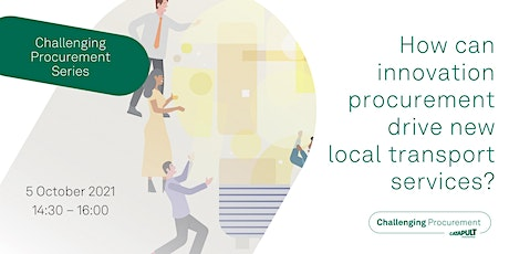 How can innovation procurement drive new local transport services? tickets