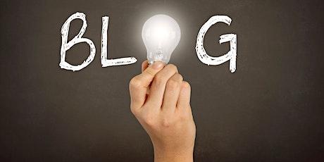 Bloggen: Wie du erfolgreich einen Blog aufbaust. Tickets