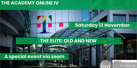 Academy Online IV: The Elite - old and new tickets