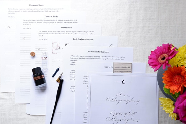 Copperplate Calligraphy Variations image