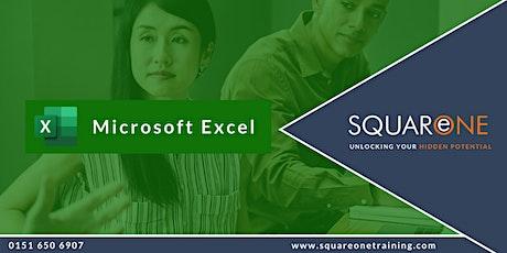 Microsoft Excel Intermediate (Level 2) tickets