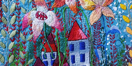Embroidery for Wellbeing -OCT n.1 tickets