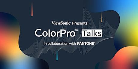 ColorPro Talks : The Power of Colour, featuring Pantone (Online Premiere) tickets