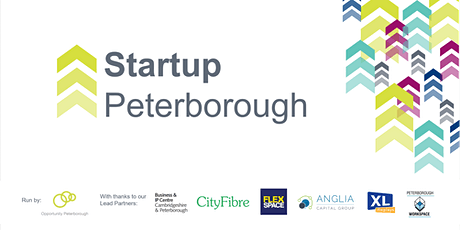 Startup Peterborough - free business bootcamp for startups & entrepreneurs tickets