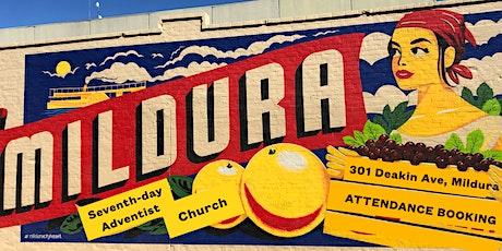 Mildura SDA Church HALL 11:20 am Livestreaming Worship tickets