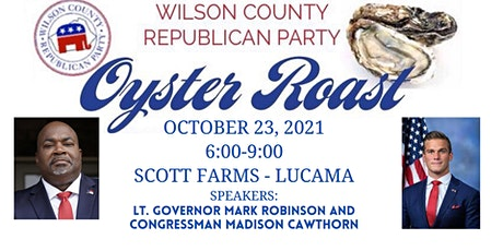 Annual Oyster Roast tickets